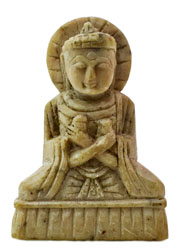 Lord Buddha (Carved Stone for Pendant Setting)