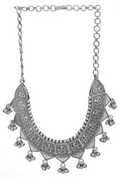 Lord Ganesha Necklace with Charms