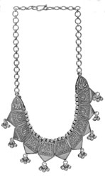Lord Surya Necklace with Charms