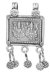 Lakshmi Ganesha Pendant