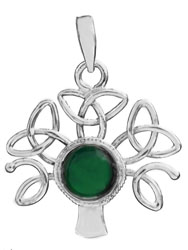 Tree of Life Pendant with Gems