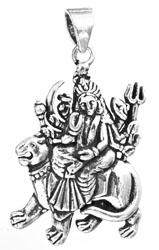 Goddess Durga Pendant