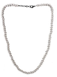 Faceted Faux Crystal Necklace