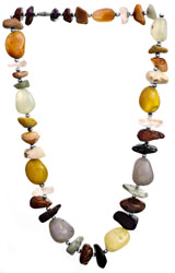 Multi-Color Faux Nugget Necklace