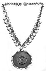 Ganesha Ethnic Necklace