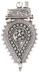 Granulated Handcrafted Pendant (South Indian Temple Jewelry)