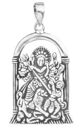 Mahishasuramardini Goddess Durga Pendant