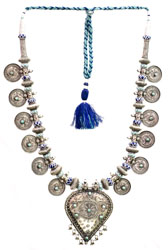 Ethnic Necklace with Turquoise