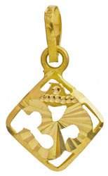 Om (AUM) Rhombus Pendant