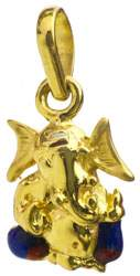Lord Ganesha Pendant with Large Ears