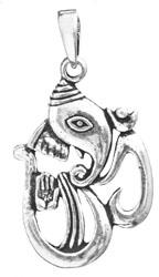 Om (Aum) Ganesha Pendant