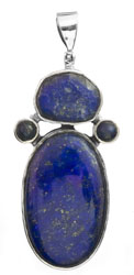 Lapis Lazuli Large Pendant