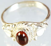 Amber Oval Ring