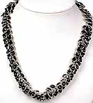 Black Onyx Bunch Necklace