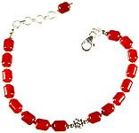 Carnelian Beaded Bracelet