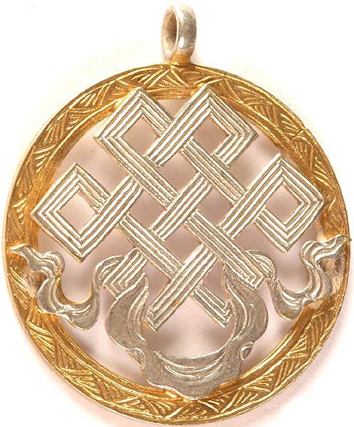 endless knot pendant ashtamangala