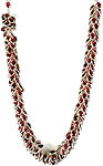 Garnet Bunch Superfine Necklace