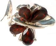 Garnet Fine Cut Ring
