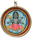 Goddess Bhavani pendant