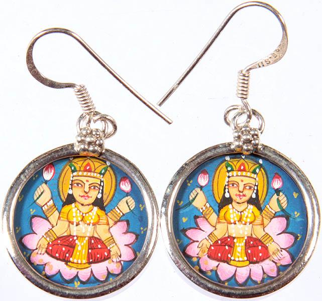goddess lakshmi earrings