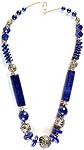 Lapis Lazuli Beaded Fine Necklace