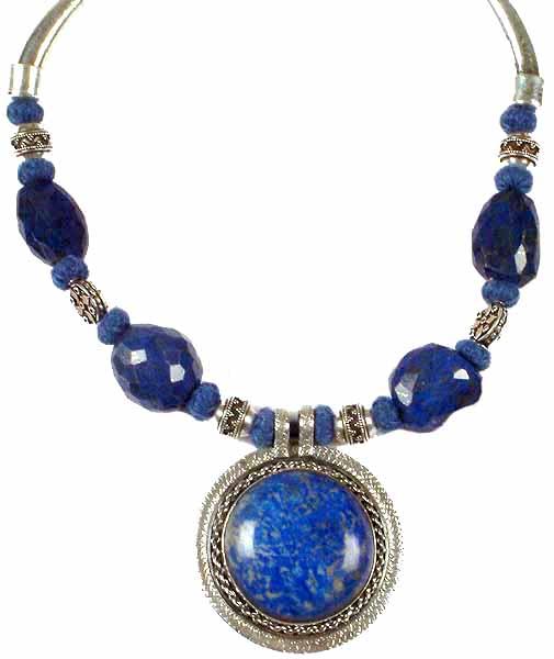 Jewelry gt necklaces gt lapis lazuli necklace