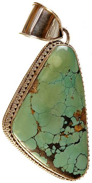 Large Turquoise Pendant