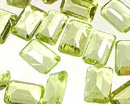 Peridot mm Octagonals (Price Per 5 Pieces)