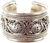 Sterling Filigree Ring