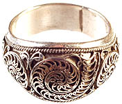 Sterling Filigree Ring