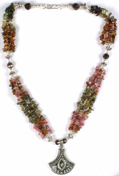 Tourmaline Chip Necklace