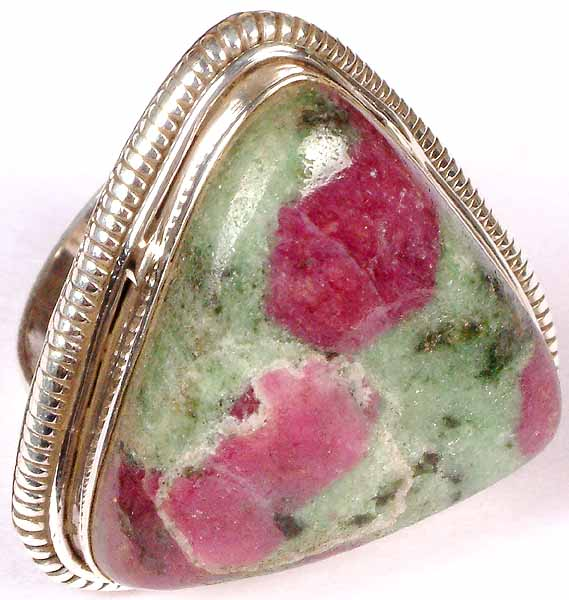 Triangular Ruby Zoisite Ring. Tejal Engagement Rings. Hair Engagement Rings. Lady Rings. Thanos Rings. Mosaic Rings. Fashionable Wedding Engagement Rings. 2.5 Carat Rings. Harrod Engagement Rings