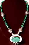 Necklace of Malachite