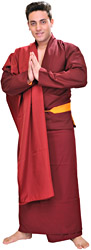 Buddhist Tibetan Lama Costume
