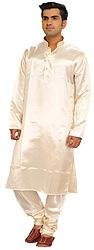 Plain Casual Kurta Pajama Set