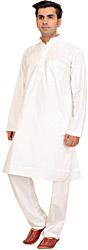 Pure White Kurta Pajama