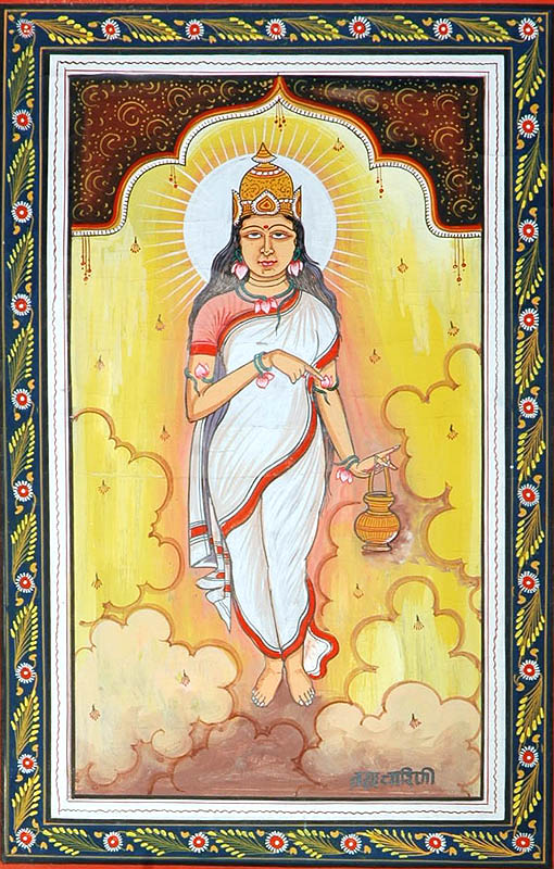 BRAHMACHARINI - Navadurga (The Nine Forms of Goddess Durga)