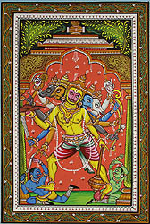 Five-Faced Hanuman