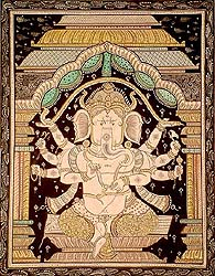 Ganesha in Black and White