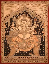 Ganesha Playing the Sitar