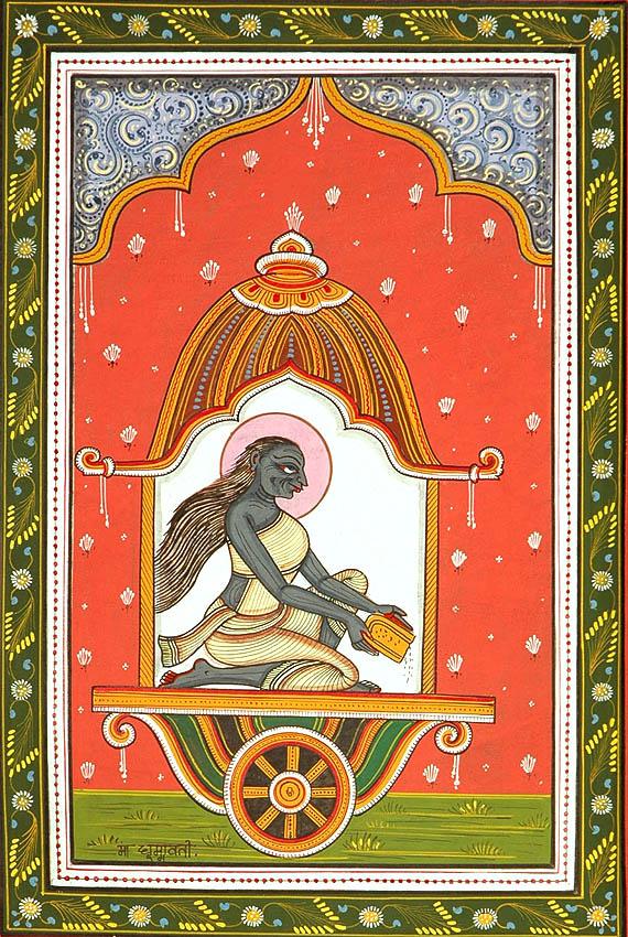Mahavidya Dhumawati - Embodiment of Tamas Guna
