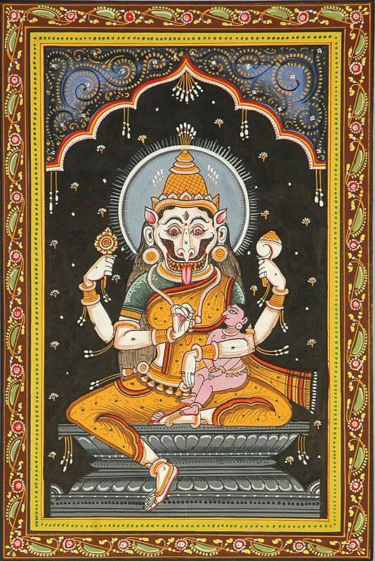 http://www.exoticindia.com/madhuban/goddess_narasimhi_shodash_matrikas_pl25.jpg