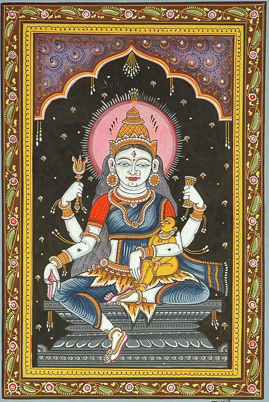 Goddess Rudrani (Shodash Matrikas)