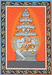 Linga as Jyoti: Cumulative Form of Shiva's Twenty-five Lilas 