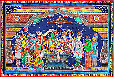 Coronation of Lord Rama