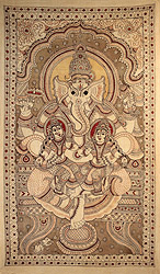 Large Painting of Lord Ganesha