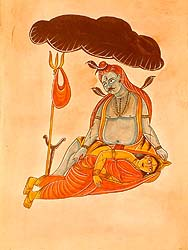 Paintings of Lord Shiva