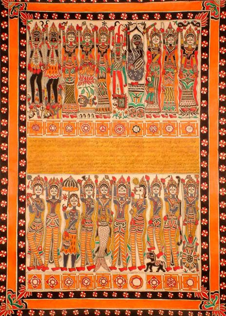Dashavatara the 10 incarnations of Vishnu