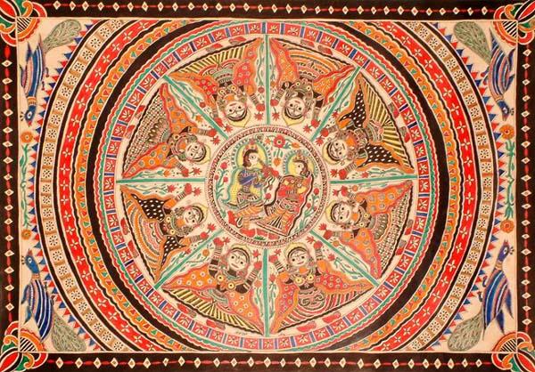 The Cosmic Dance of Krishna