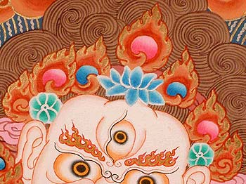 White Mahakala's Crown of Jewels